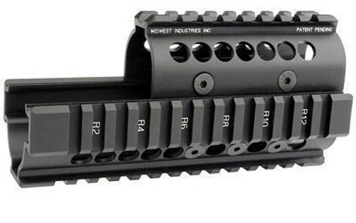 Midwest Ak47-74 Quad Rail Black