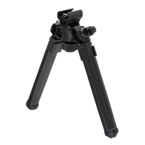 "Magpul Bipod for 1913 Picatinny Rails 6.3""/10.3"" Adjustable - Aluminum/Polymer Black (CT35MPIMAG941BLK)"