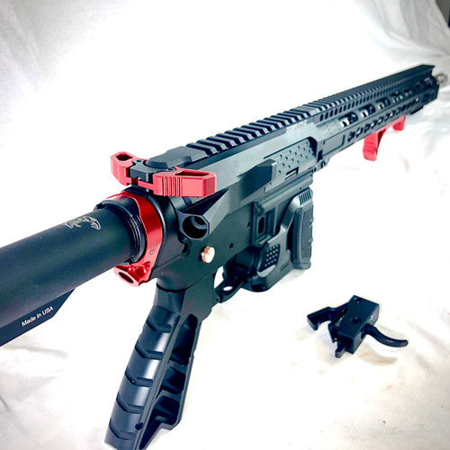 Phase5 5 Sloped Qd End Plate Red
