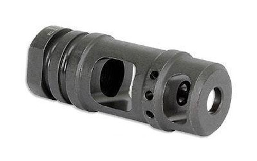 Midwest Industries Muzzle Brake, 2 Chamber, Black, 1/2x28, 223 Rem, 5.56mm