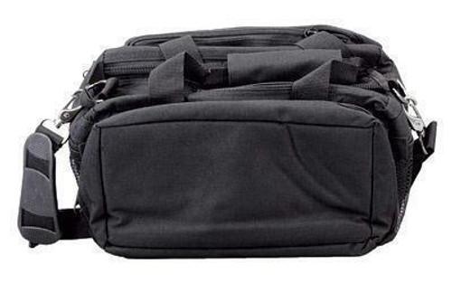 Bulldog Cases Bulldog Range Bag Dlx W-strap Black 672352249101