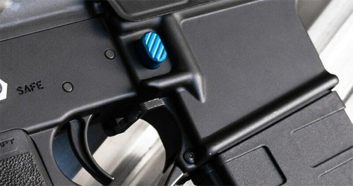 Phase 5 Weapon Systems Phase 5 Weapon Systems PMR, Magazine Release, Blue Anodized Finish