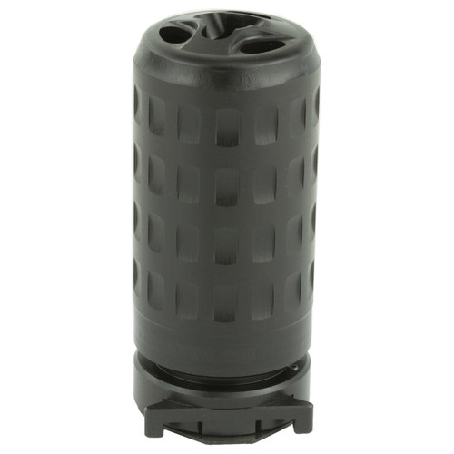 Griffin Armament Griffin Armament QD Blast Shield Concussion Reducer 5.56/7.62 17-4PH Stainless Steel Black 791154081464