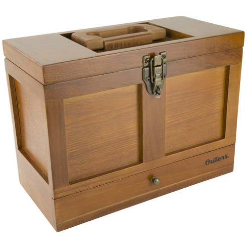 Outers Outers 25pc Univ Clng Tool Box Wood 076683700841