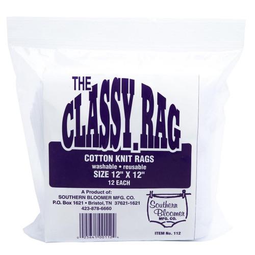 Southern Bloomer Sthrn Blmr Cotton Rag 12x12 12/bag 025641001124
