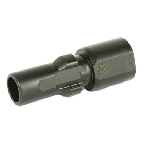 SilencerCo Sco 3lug Muzzle Device 9mm 5/8x24 816413025239
