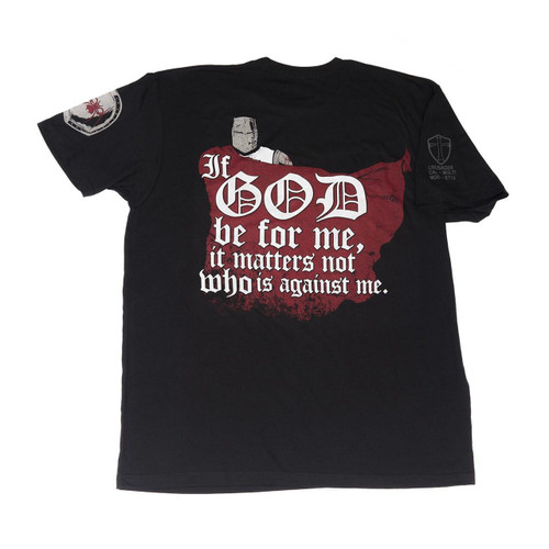 Spikes Tactical Spikes Tshirt If God Be For