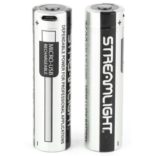 Streamlight Strmlght 18650 Battery Usb 2pk 080926221024