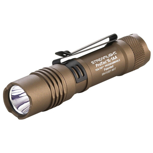 Streamlight Strmlght Protac 1l/1aa Coyote Brn 080926880733