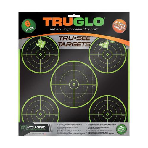 Truglo Truglo Tru-see 5 Bull Tgt 12x12 6pk 788130017968