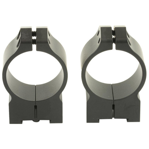 Warne Scope Mounts Warne Tikka 30mm Medium Matte Rings 656813001125