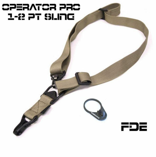 Blowout 1,2 Point Sling - Operator PRO Multi Use Adjustable Sling or FDE