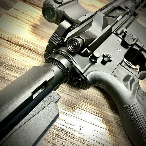 QD End Plate AR-15 Nitride - Mil Spec (AS-0617415)