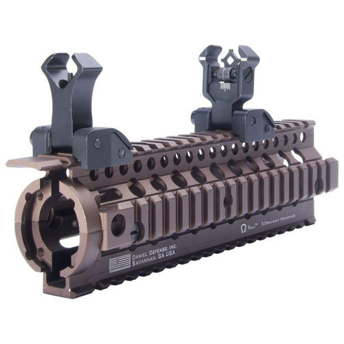 BLACK LABEL Gen 3 Crystal Di-Optic BUIS Flip up Iron Sights - Black Label