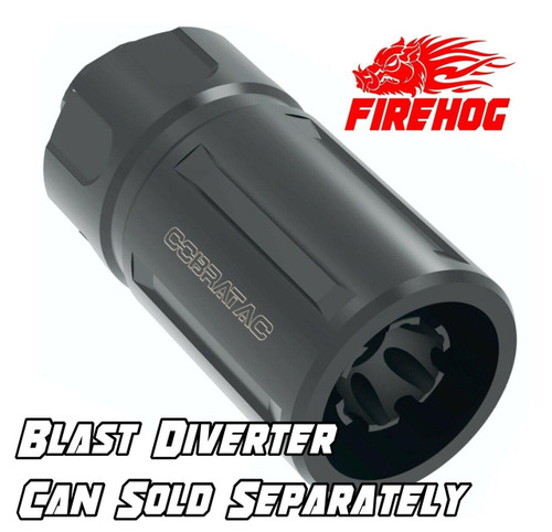 FIREHOG Fire Hog Mod-FH - 5/8 X 24 Flash Suppressor Brake - .308/7.62/300 Blackout
