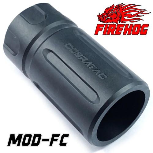 FIREHOG Fire Hog Black Mod-FC Blast Shield Can Forward Diffuser Muzzle Device - Multi-Cal