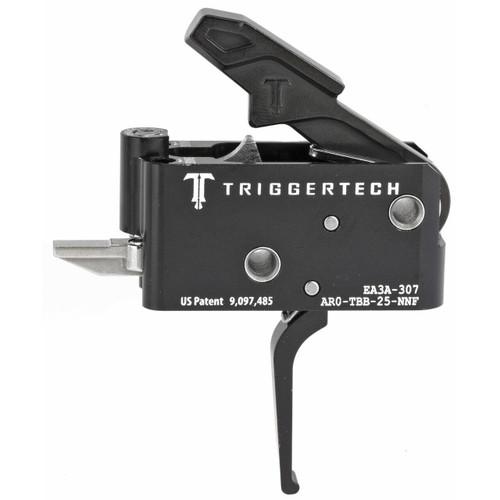 TriggerTech Trigrtech Ar15 Blk Adapt Flat Rh 885768000390