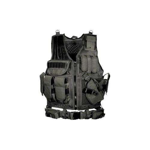 Leapers, Inc - UTG Utg Le Tactical Vest Black 4712274520547