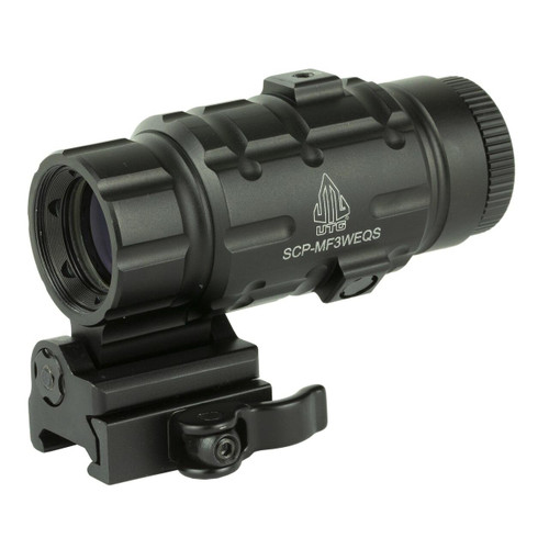 Leapers, Inc - UTG Utg 3x Magnifier W/fts Qd Mnt 4717385550469