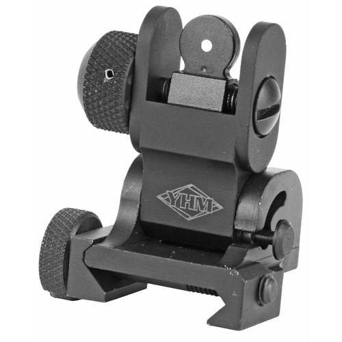 Yankee Hill Machine Co Yhm Flip Rear Sight Blk 816701013344