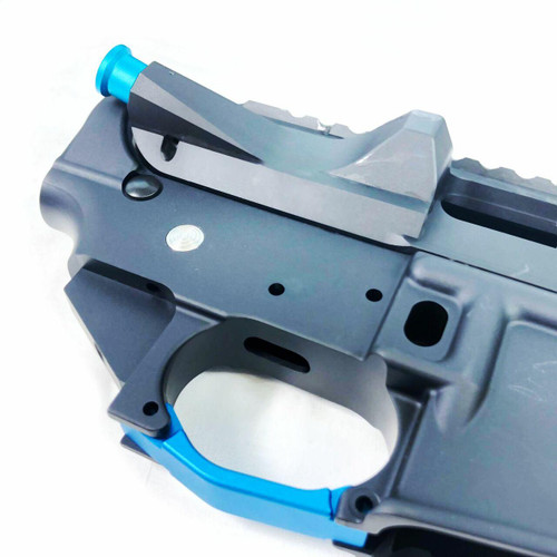 Cobratac Enhanced Trigger Guard Billet for AR-15/10/LR308 - Blue