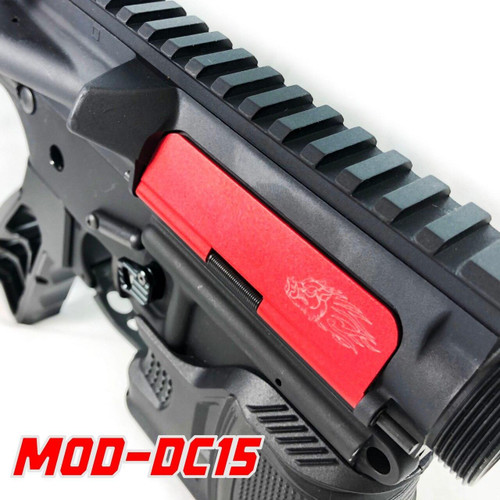 FIREHOG Fire Hog Mod-DC15 Ultra Light Enhanced Billet Dust Cover Kit - Red