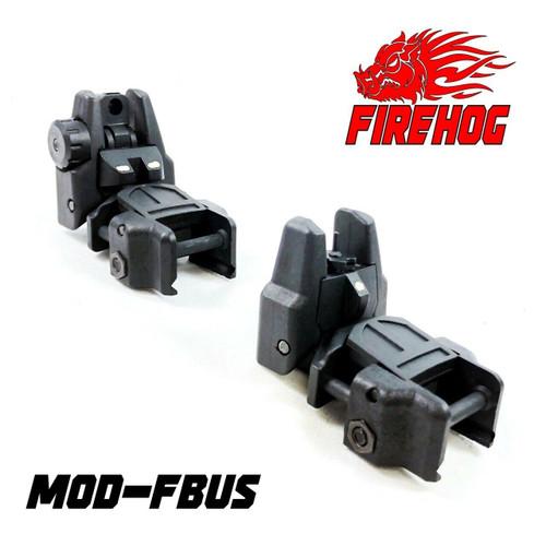 FIREHOG FireHog Mod-FBUS Dual Reticle Flip-up Back Up Iron Sight