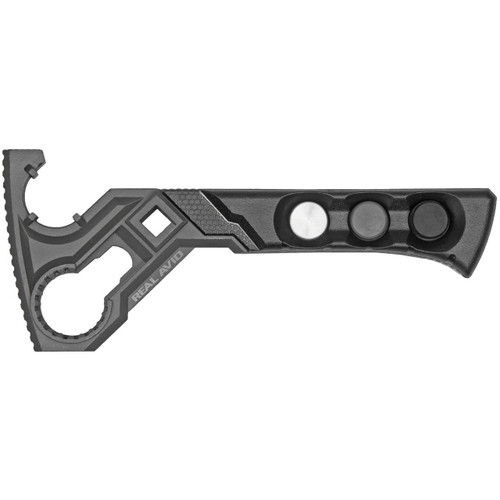 Real Avid Real Avid AR Armorers Master Wrench, w/Interchangeable Hammer Heads 813119012464