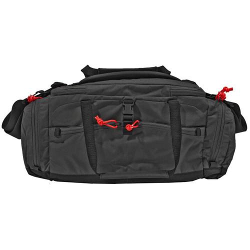 Grey Ghost Gear Ggg Range Bag Black W/red Zipper Pul 810001170721