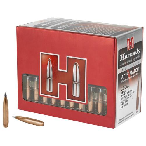 Hornady Hrndy A-tip 30cal .308 250gr 100ct 090255230925