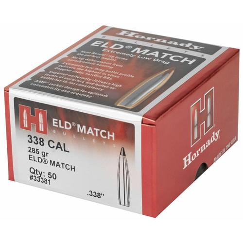 Hornady Hrndy Eld-m 338cal 285gr 50 090255333817