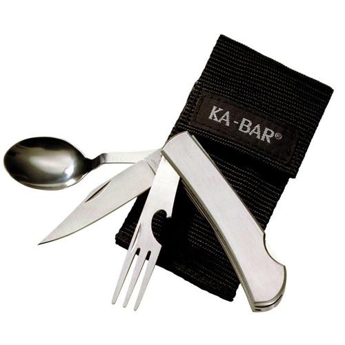 KABAR Kbar Hobo Fork/knife/spoon Ss Bx 617717213007