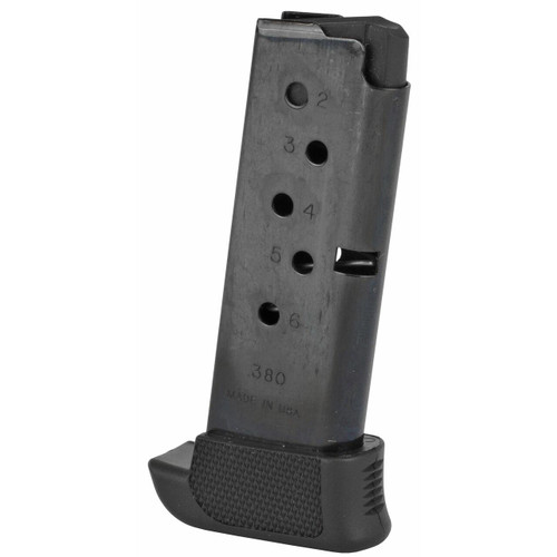 Ruger Mag Ruger Lcp 380acp 7rd Bl W/ext 736676904051