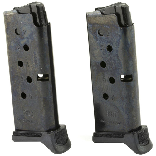 Ruger Mag Ruger Lcp Ii 380acp 6rd 2-pk 736676906444