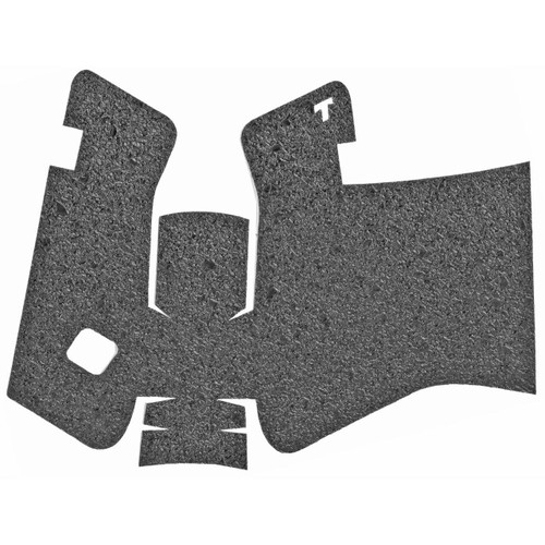 TALON Grips Inc Talon Grp For Glock 17 Gen5 Rbr Nobk - CT35TALON379R 812308028958