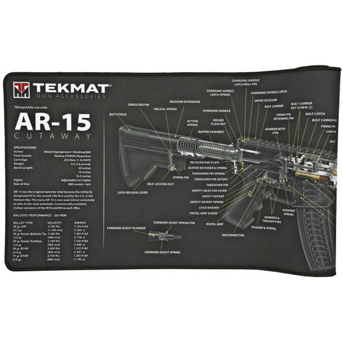 TekMat Tekmat Ultra Rifle Mat Ar15 Blk 612409971654
