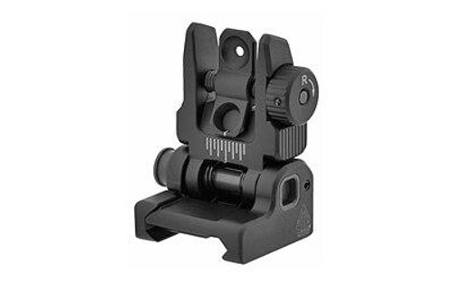 Leapers, Inc - UTG Utg Accu-sync Ar15 Flip Rear-sight 4717385553712