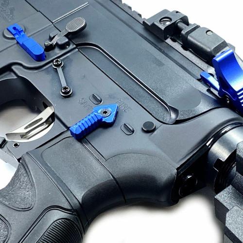 FIREHOG Fire Hog Mod-A90SS Ambidextrous 90 Safety Selector Ambi - Blue