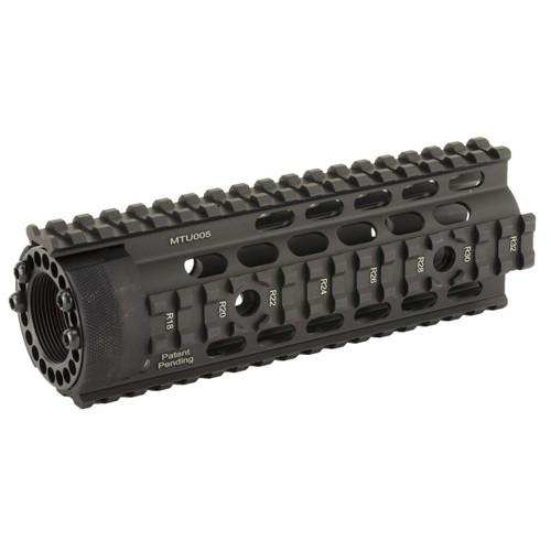 Leapers, Inc - UTG Utg Pro 4/15 Carb Ff Quad Rail Blk 4712274528222