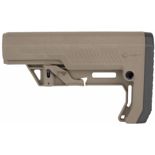 Mission First Tactical Mft Bttlelnk Ed Minimalist Stock Tan 814002024342
