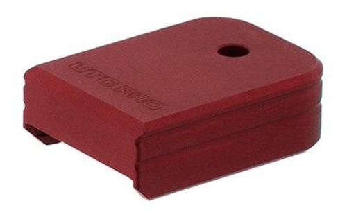 Leapers, Inc - UTG Utg Pro0 Base Pad For Glock Red 4717385554351