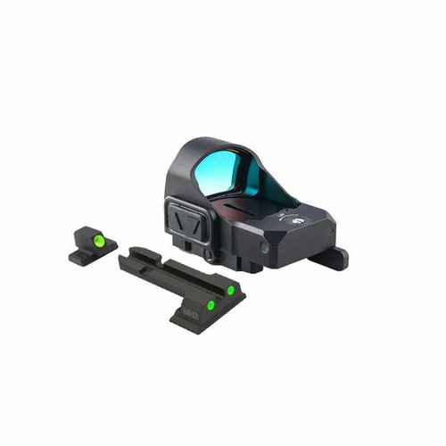 Meprolight Meprolight Micro Red Dot Sight Kit W/SandW MandP QD Adapter and Backup Sights 810013520323