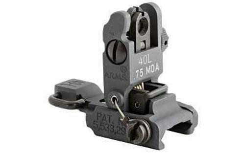 ARMS, Inc ARMS 40L Low Profile Flip Up Rear Sight qkshp