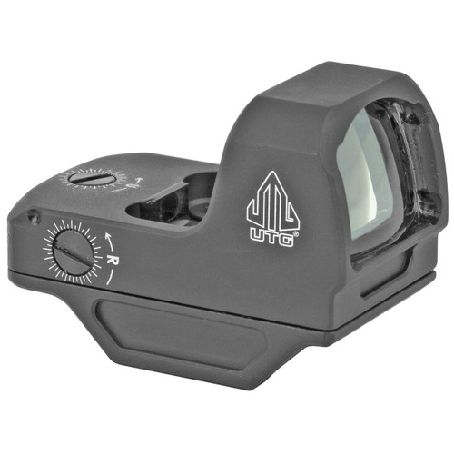 Leapers, Inc - UTG UTG OP3 Micro Green 4 MOA Single Dot Reflex Sight Adaptive Base 4717385555938