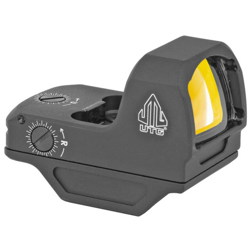 Leapers, Inc - UTG UTG OP3 Micro Red 3.5 MOA Single Dot Reflex Sight Adaptive Base 4717385555921