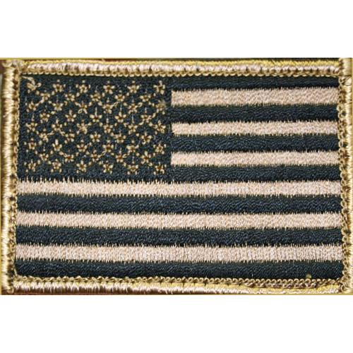 BLACKHAWK Bh American Flag Patch Handl Tan/blk 648018039041