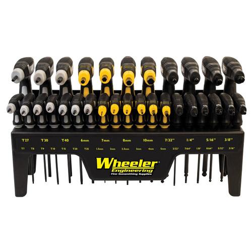 Wheeler Wheeler P-handle Driver Set 30 Pc 661120412724