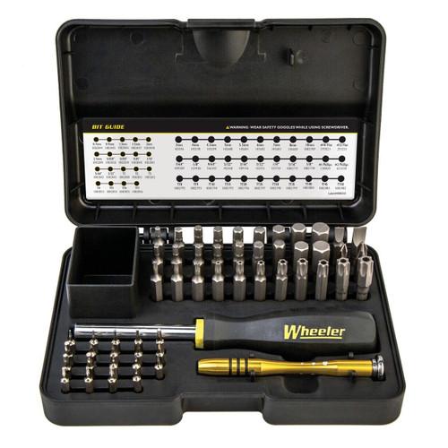 Wheeler Wheeler Screwdriver Set 55 Pc 661120412731