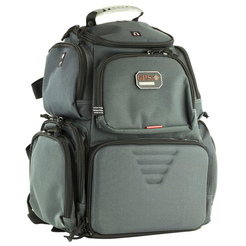 G-Outdoors, Inc G-outdrs Gps Handgunner Backpack Gry 819763012027
