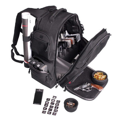 G-Outdoors, Inc G-outdrs Gps Executive Backpack Blk 819763011396